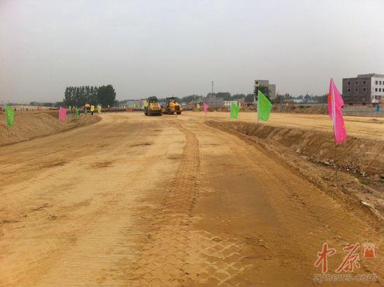 郑州文化路连霍高速互通立交工程有望年底完工
