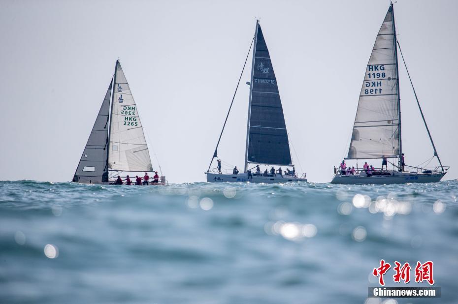 2019第十三届中国杯帆船赛在深圳开赛