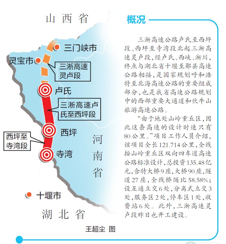 湖北十堰至河南淅川高速公路开工图片